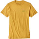 Patagonia P-6 Logo Organic T-Shirt Men Yurt Yellow